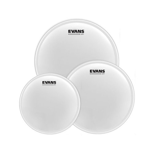 """Evans UV1 Coated Tom Pack-Fusion (10"""" 12"""" 14"""")"""