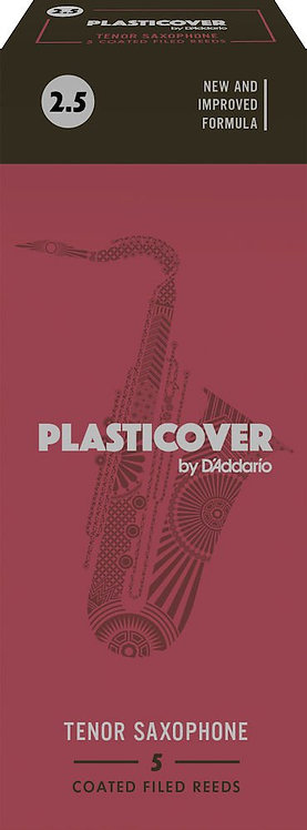 Plasticover by D'Addario Tenor Sax Reeds Strength 2.5 5-pack