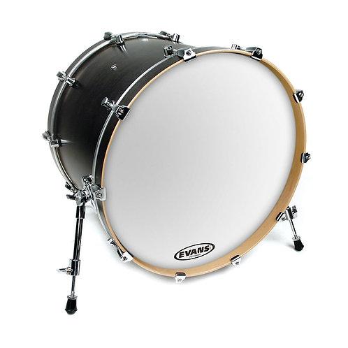 Evans EQ3 Resonant Smooth White Bass Drum Head 18 Inch