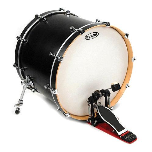 Evans EQ1 Coated Bass Drum Head 18 Inch