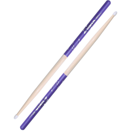 5A Nylon Purple DIP Drumsticks