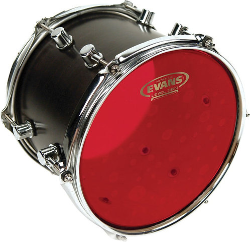 Evans Hydraulic Red Drum Head, 18 Inch