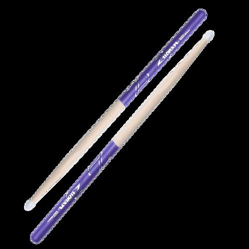 5B Nylon Purple DIP Drumsticks