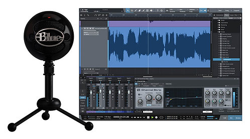 Snowball Studio USB Mic and Software Bundle