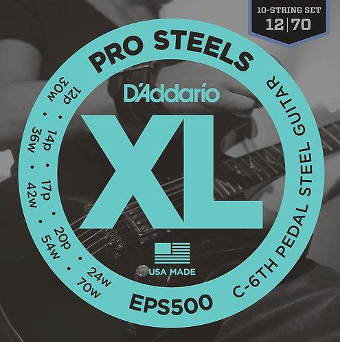 D'Addario EPS500 Pedal Steel Strings C-6th