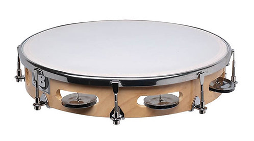 "CB 10"" Single Tunable Tambourine"