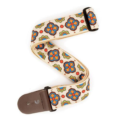D'Addario Latin Tile Art Guitar Strap Traditional