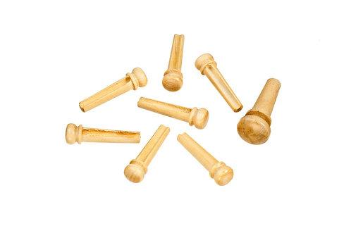 D'Addario Boxwood Bridge Pins w/End Pin Set