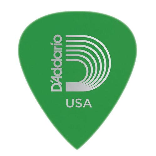 D'Addario Duralin Precision Guitar Picks Med 100 pack