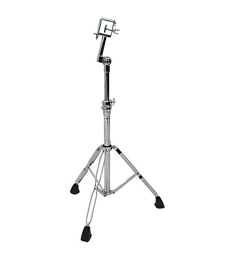 Chrome-Plated Standing Bongo Stand