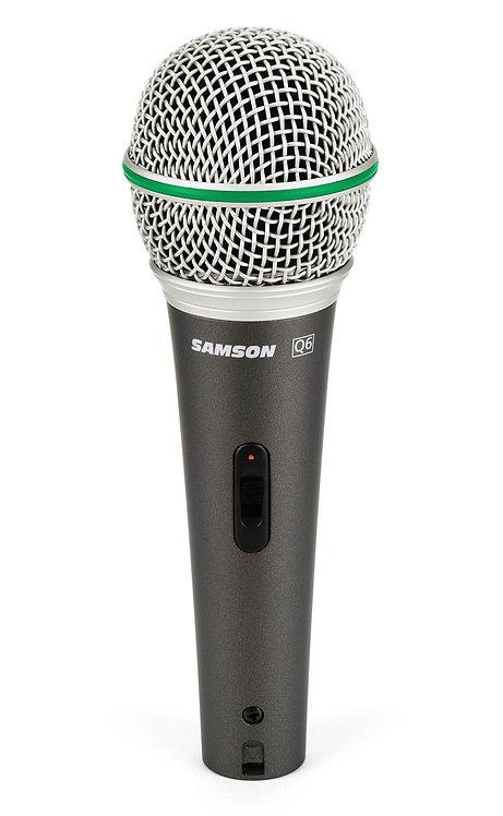 Samson's Q6 Dynamic Microphone