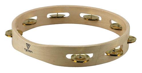 Single Row Wooden Tambourine