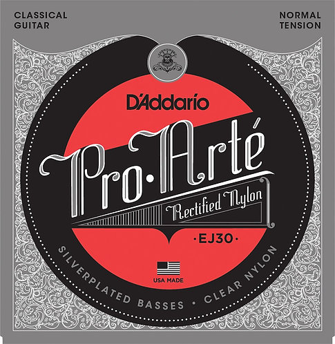 D'Addario EJ30 Classics Rectified Classical Guitar Strings Normal Tension