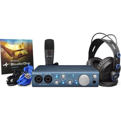 iTwo Studio Recording System Bundle