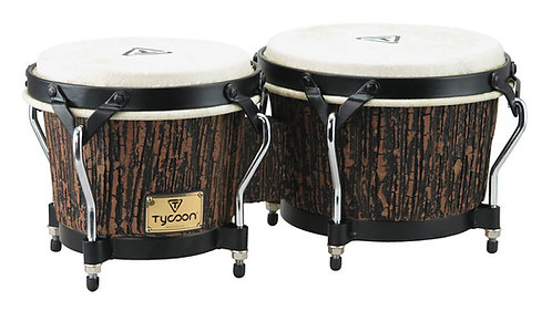 Supremo Select Series Bongos - Lava Wood Finish