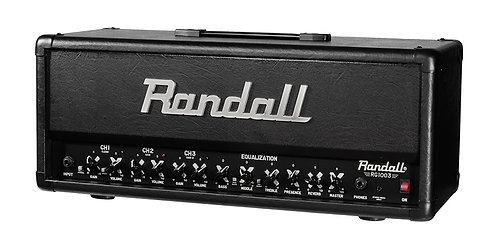 Randall 100W 3 CH FETSolid State GTR H100 w guitar amp w 2 button fo