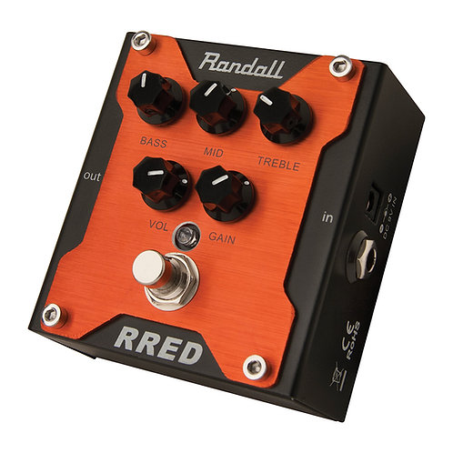 Randall RG RED channel pedal    overdrive pedal