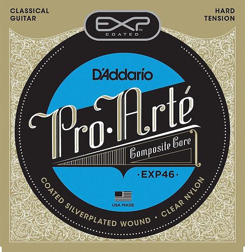 D'Addario EXP46 Coated Classical Guitar Strings Hard Tension