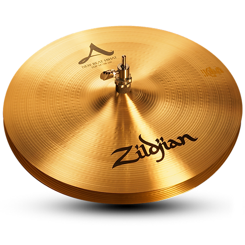 "14"" A Zildjian New Beat Hihat - Top"