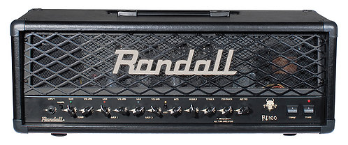 Randall 100w 3 channel tube head      with footswitch