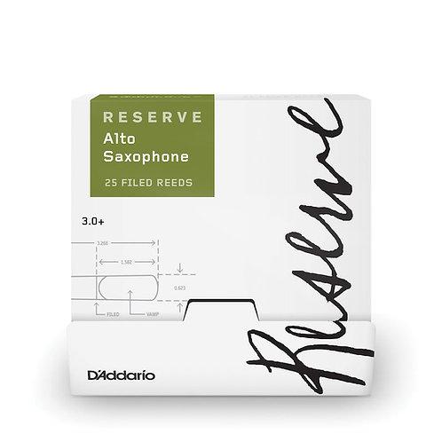 D'Addario Reserve Alto Saxophone Reeds Strength 3.0+ 25-box