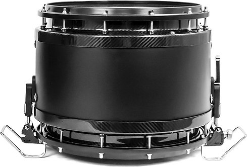 System Blue Carbon Composite Hi-Tension Snare Drum (Phatboy).