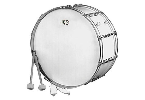 CB Cb700 14x24 Bass Drum-white