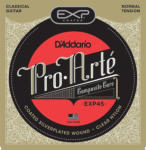 D'Addario EXP45 Coated Classical Guitar Strings Normal Tension