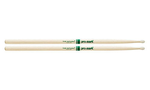 """Promark Hickory 7A """"The Natural"""" Nylon Tip drumstick"""