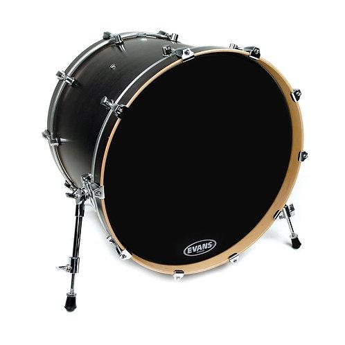 Evans Resonant Black Bass Drum Head 22 Inch