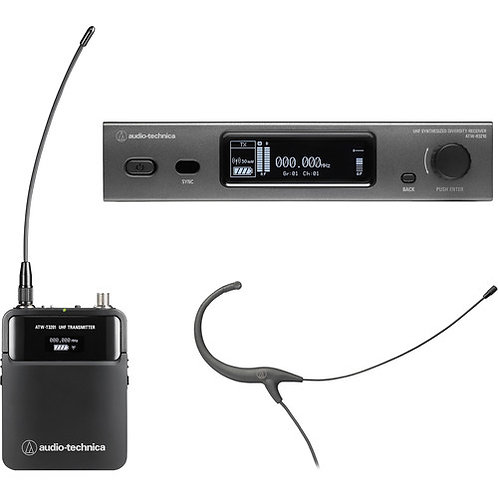 Audio-Technica R3210 T3201 BP892cH 470-530 Mz3000 Series Wls Sys (4th gen)