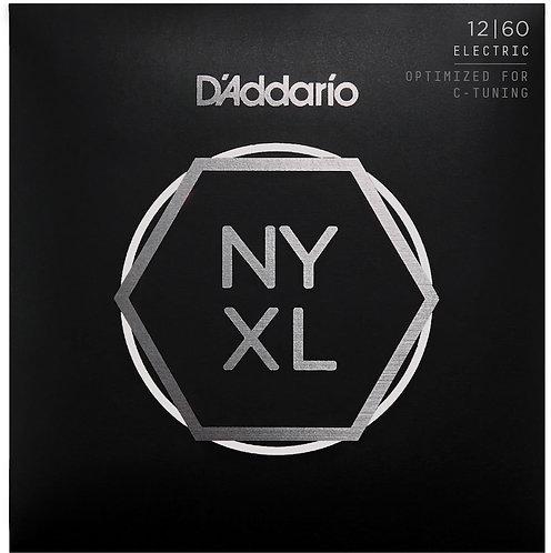 D'Addario NYXL1260 Nickel Wound Electric Guitar Strings X Hvy 12-60