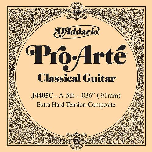 D'Addario J4405C Pro-Arte Composite Classical Guitar SGL String X-Hard Tension F