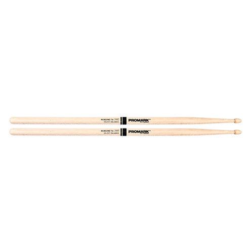 "Rebound 7A .535"" Hickory Acorn Wood Tip"