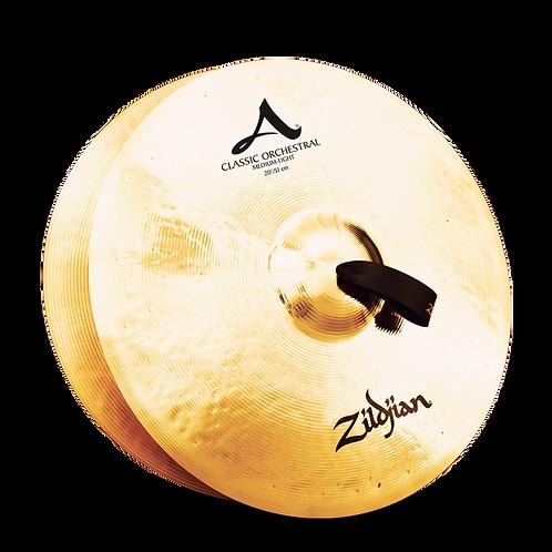 """20"""" A Zildjian Classic Orchestral Selection Medium Light"""