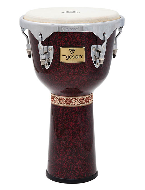 Concerto Series Red Pearl Finish Djembe