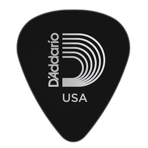 D'Addario Black Celluloid Guitar Picks 10 pack Hvy