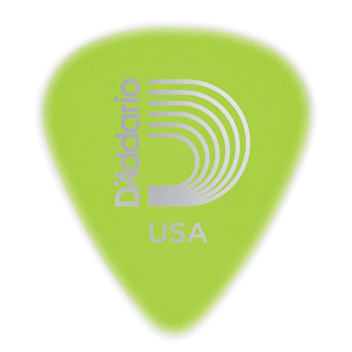 D'Addario Cellu-Glow Guitar Picks Light 25 pack