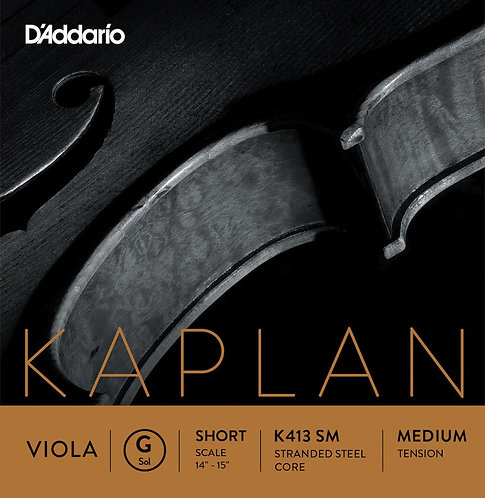 D'Addario Kaplan Forza Viola String Set Short Scale Med Tension