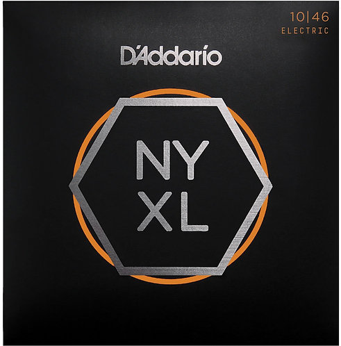 D'Addario NYXL1046 Nickel Wound Electric Guitar Strings Reg Light 10-46