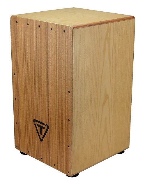 29 Series Birh Wood Box Cajon With Zebrano Front Plate