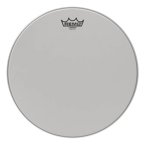 """Remo Batter, Crimped, Cybermax With Duralock, White, 13"""""""