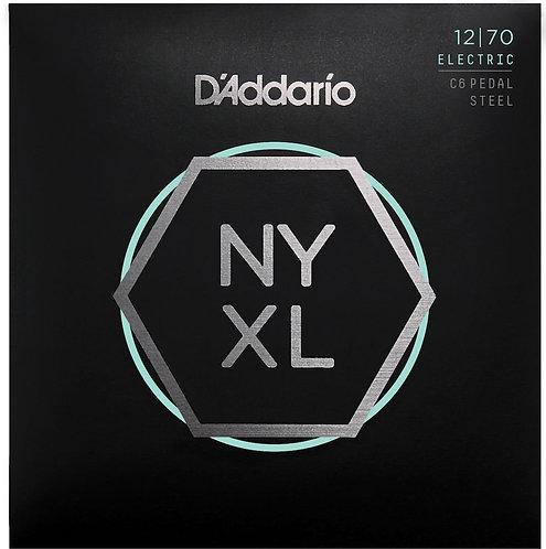 D'Addario NYXL1270PS Nickel Wound C6 Pedal Steel Guitar Strings Reg 12-70