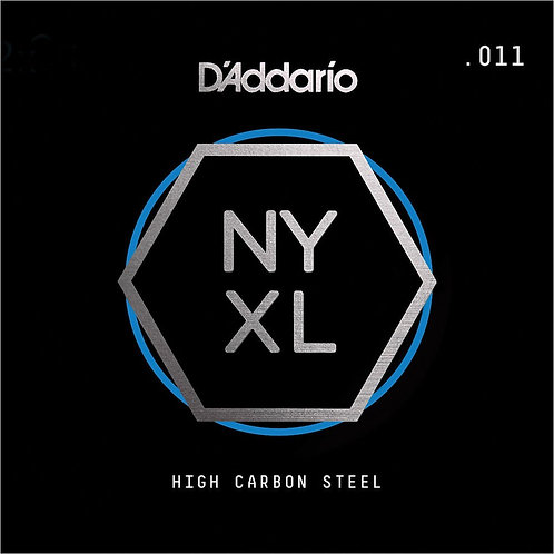 D'Addario NYS011 SGL Plain Steel Guitar String .011
