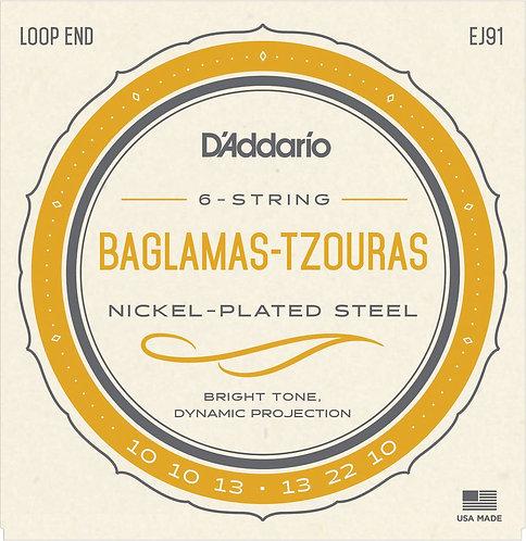 D'Addario EJ91 Baglamas-Tzouras