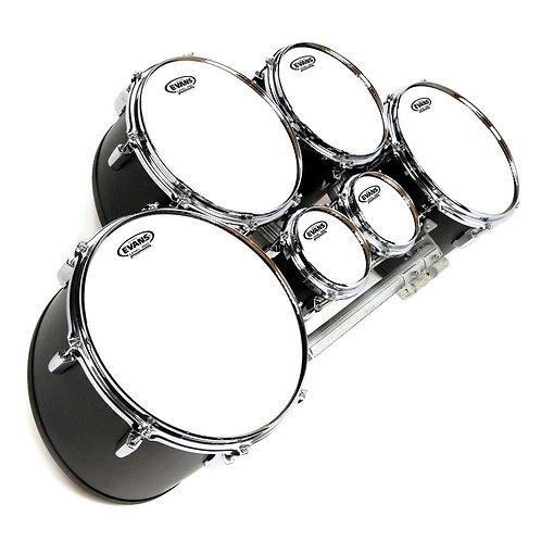 Evans MX White Marching Tenor Drum Head, 13 Inch
