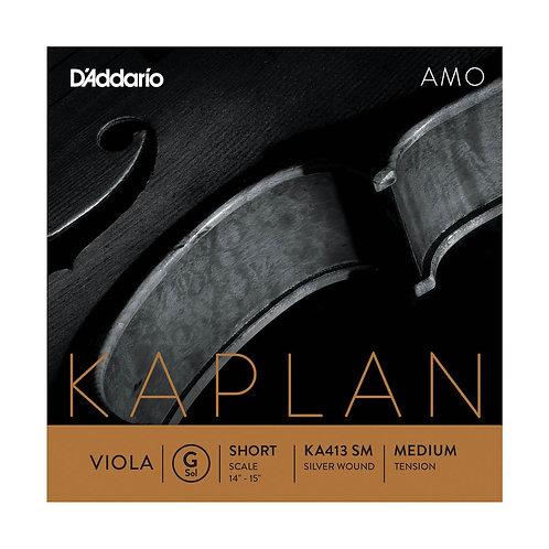 D'Addario Kaplan Amo Viola G String Short Scale Med Tension