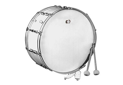 CB Cb700 14x22 Bass Drum-white