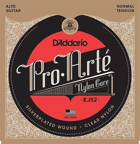 D'Addario EJ52 Pro-Arte Alto Guitar Strings Normal Tension