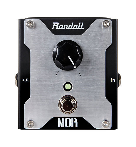 Randall One Knob boost pedal    Booster foot pedal